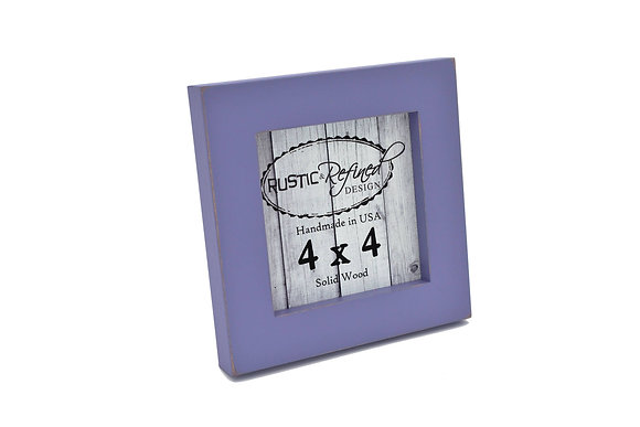 "4x4 1"" Gallery Picture Frame - Purple"