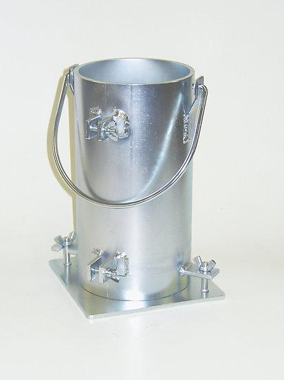 "Cylinder Mold 6 x 12"" w/Handle"