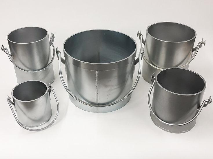 Series Steel Unit Weight Measures