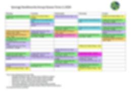 Term 3 Wagga and Gundagai Timetable 2020