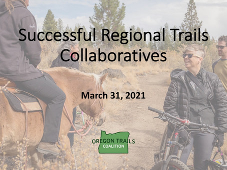 Successful Regional Trails Collaboratives