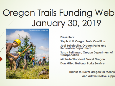 Trails Funding Opportunities in Oregon