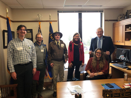 Outdoor Trails Coalition Partners in 2019 Legislative Action Day