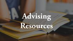 Advising Resources