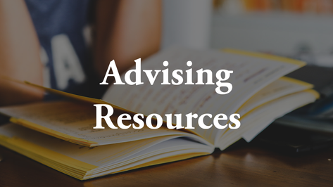 Advising Resources