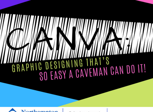 Canva: Graphic designing that's so easy a caveman can do it!