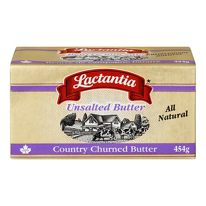 Lactantia Butter Unsalted (454g)