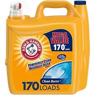 Arm & Hammer Clean Burst Liquid Laundry Detergent (170 Load)