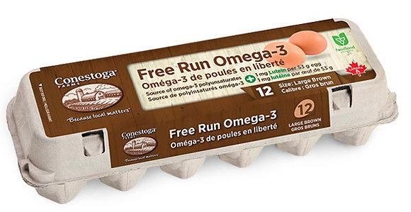 Nutri Free Run Omega3 Brown Egg (12)