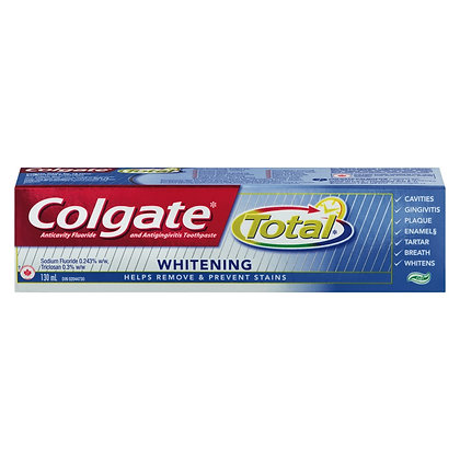 Colgate Clean Mint-Whitening Toothpaste - 130Ml