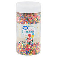 Great Value Rainbow Sprinkles, 9 oz