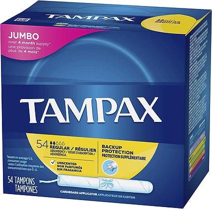 Tampax Cardboard Applicator Tampons (10)