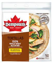 Dempster'S Whole Wheat Tortilla