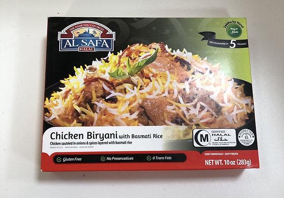 AL SAFA Chicken Biryani with Basmati Rice