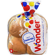 Wonder White Hamburger Buns