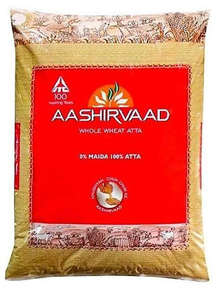 Aashirvaad Whole Wheat Atta Flour (20 lbs)
