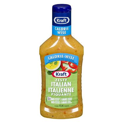 Kraft Calorie-Wise Zesty Italian Dressing (475ml)