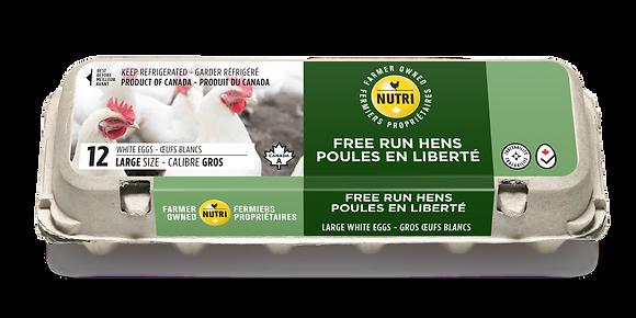 Nutri Free Run Omega3 White Egg (12)