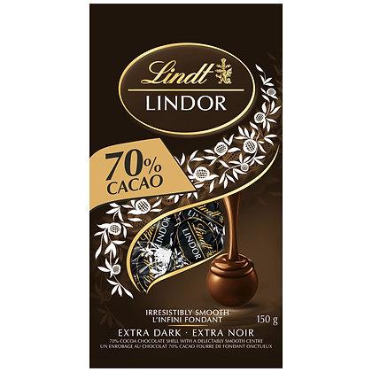 Lindt Lindor 70% Dark Chocolates