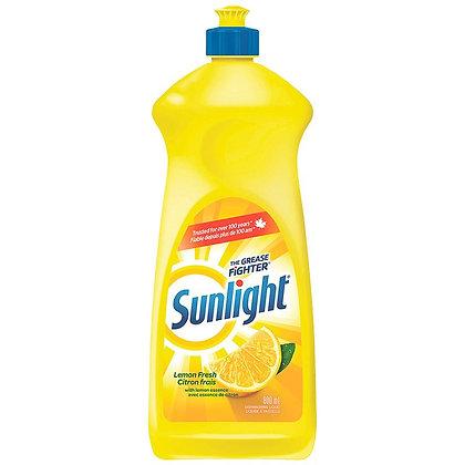 Sunlight Dish Wash Lemon (800Ml)