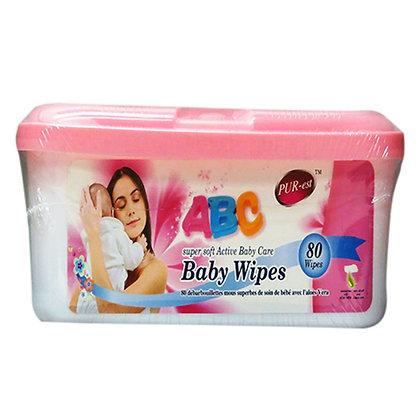 Purest Abc Baby Wipes (80)