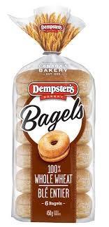 Dempster'S Whole Wheat Bagels