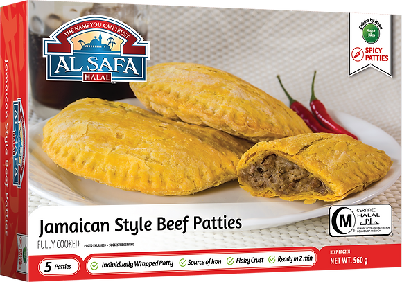 AL SAFA Jamaican Style Beef Patties