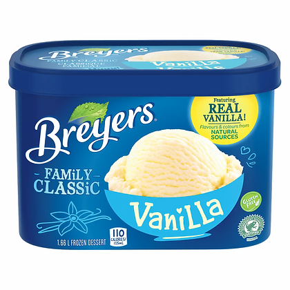 Breyer's Vanilla Ice Cream (1.66L)