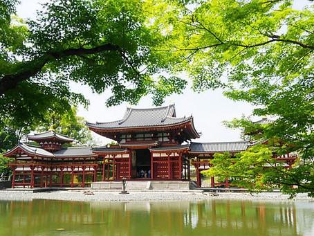 Pepohonan Segar di Kuil Byodoin