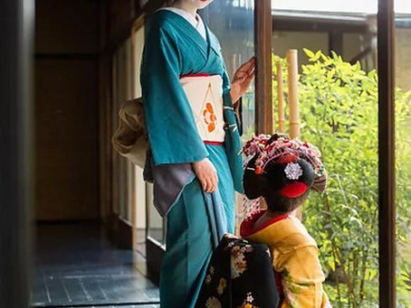 Budaya Kimono di Hanamachi