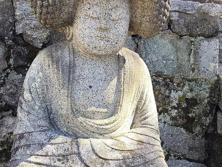 Patung Buddha di Konkai Komyoji Temple