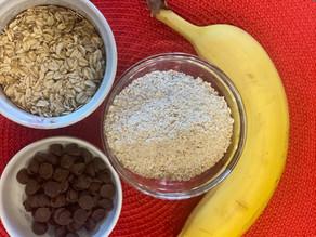 """3 Ingredient """"Breakfast"""" Cookies"""