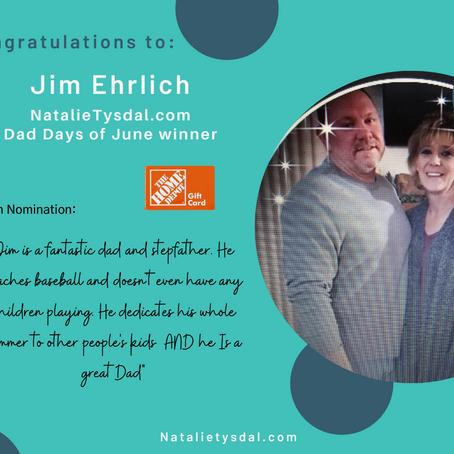 Dad Days of June Winner Announced