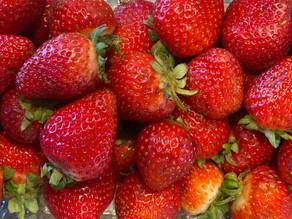 Half-scratch strawberry Cream cheese cups 🍓