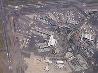 アメリカの空港空撮