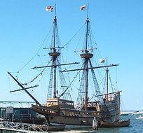 プリマスプランテーション歴史村と移民船メイフラワー号