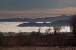 matin sur la route du Puy