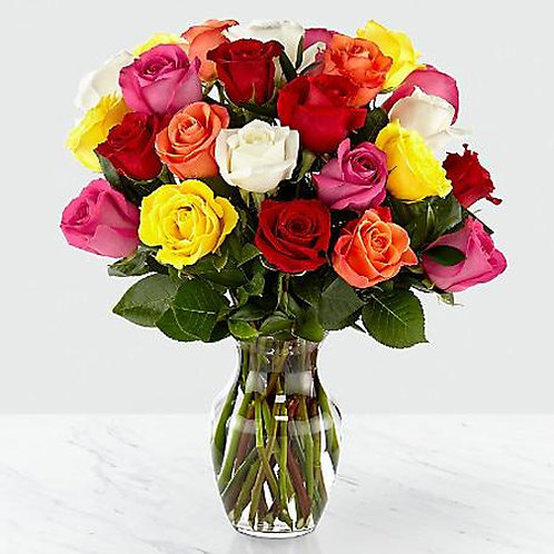 Colorful mixture Roses