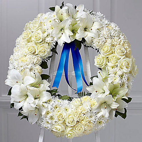 Wreath of Remembrance Standing Wreath