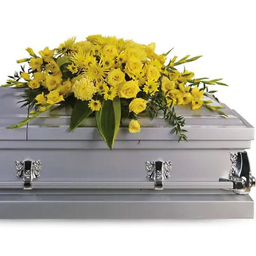 Yellow Half Casket Cover