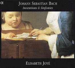Elisabeth Joyé_Bach-inventiones et symph