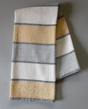 Handwoven Dish Towel: Stripes in 2021 Pantone Colors
