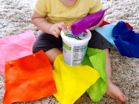 DIY Wipes Container | Montessori Wipes Container