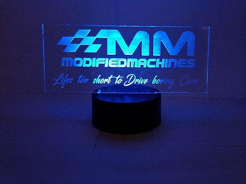 Modified Machines LED Night Lamp
