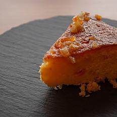 無農薬オレンジをつかった自家製マーマレードケーキ