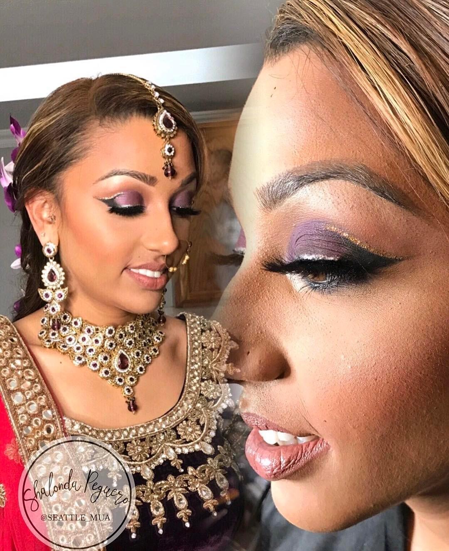Seattle South Asian Bridal Makeup