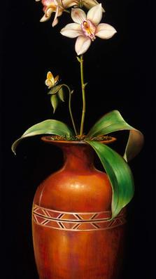 Notte di Primavera 23' x 9' - oil on koa