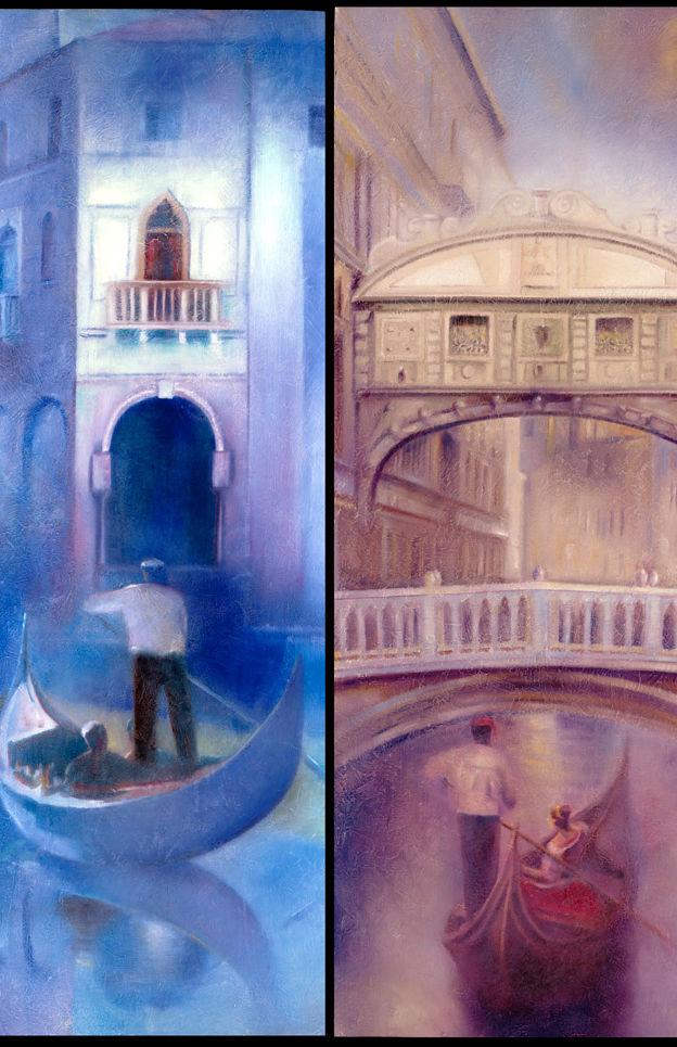 Venice in Blue ,Venice Mist 2-31%22