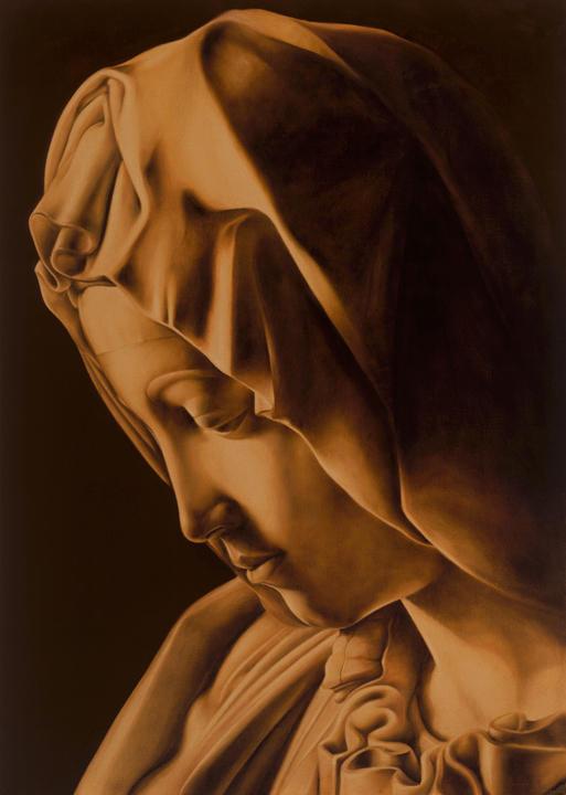 Pieta 35' x 25' - oil on canvas