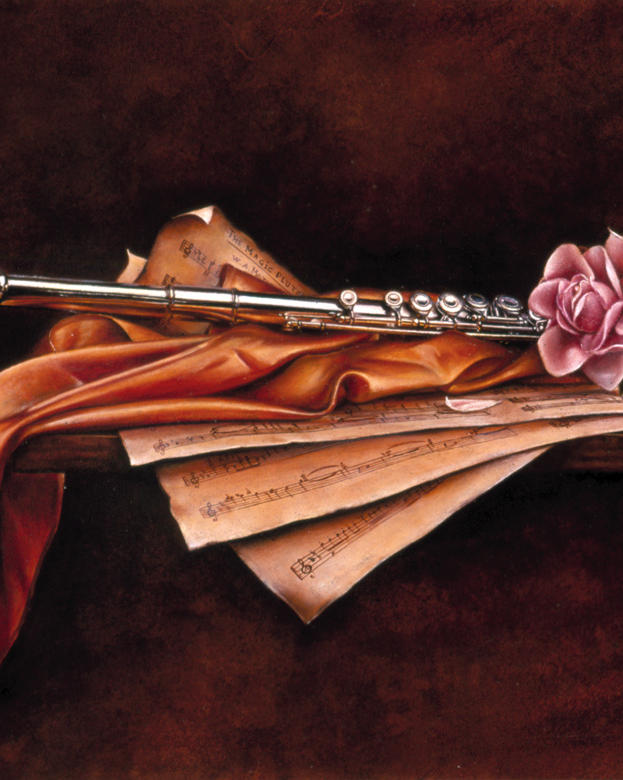 The Magic Flute 14' x 18' - oil on plaster